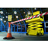 SKIPPER barrier belt unit  with 9 meters red/white tape