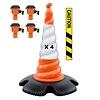 Skipper cone set 81 m2 with Skipper cones and Skipper barrier belt units