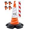 Skipper ensemble cônes 81 m2 avec cônes Skipper et enrouleurs à sangle Skipper