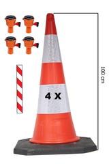 Producten getagd met Ensemble barrière de sécurité cônes Skipper