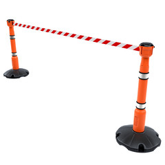 Produits associés au mot-clé retractable barrier post