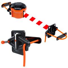 Producten getagd met retractable barrier belt