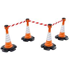 Producten getagd met retractable barrier post