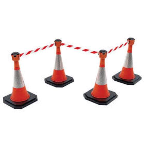 Skipper budget set retractable barrier cones