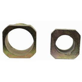 Tensioning nut for ground sleeve