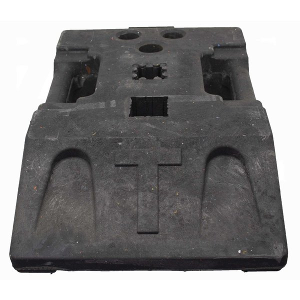 STAR Baseplate 25 kg - recycled PVC