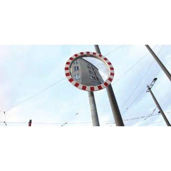 Galvanized steel pole Ø 76 mm for mirrors