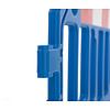Barrière de chantier GATEBARRIER - bleu  - 1000 x 2000 mm