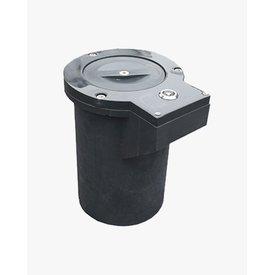 VISO Ground socket for 'Shape Memory' bollards Ø 80mm