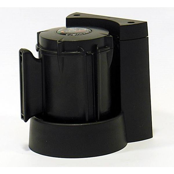 Afzetlinthouder met muurbevestiging  3 m x 50 mm  Rood - Zwart