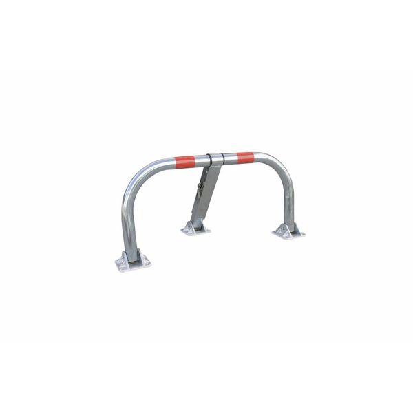Parking bracket with cylinder lock + key - 960 x 425 x 455 mm - Ø 60 mm