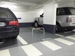 Parkeerinrichting en parkeeruitrusting