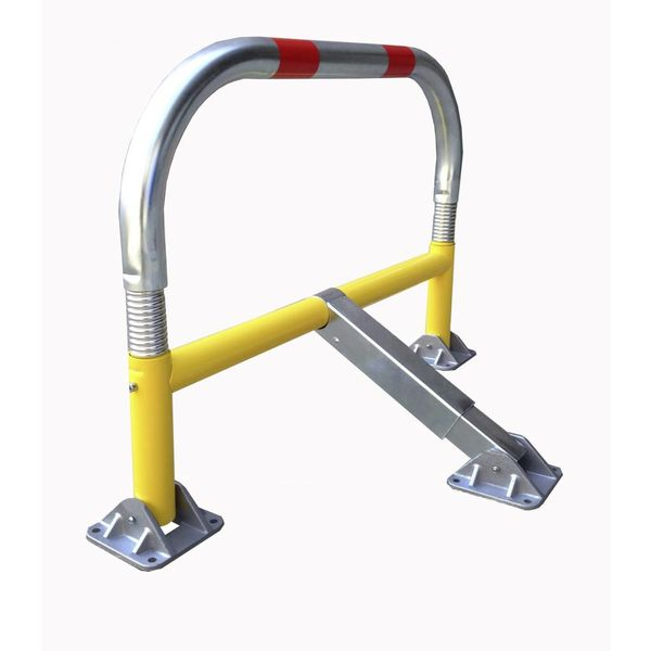 Parking bracket with springs and cylindrical safety lock 970 x 405 x 650-Ø 60 mm