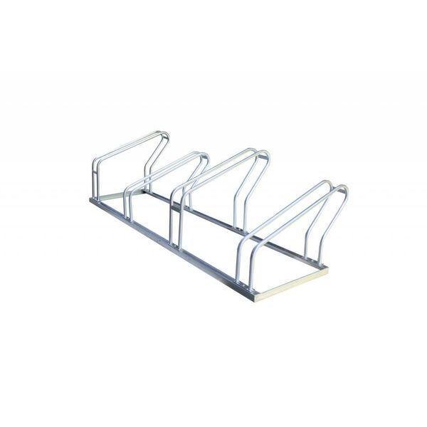 Single-sided bicycle racks for 4, 6 or 8 bikes