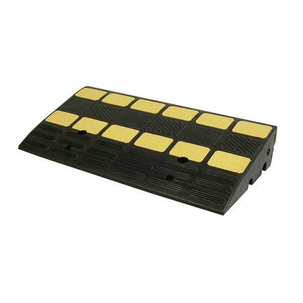 Drempelhulp in rubber 600 X 300 X 100 mm