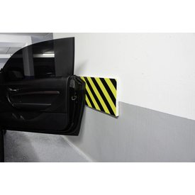 Door impact protection strips