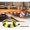 Rubberen stootrand voor hoekbescherming in garages, parkings ...