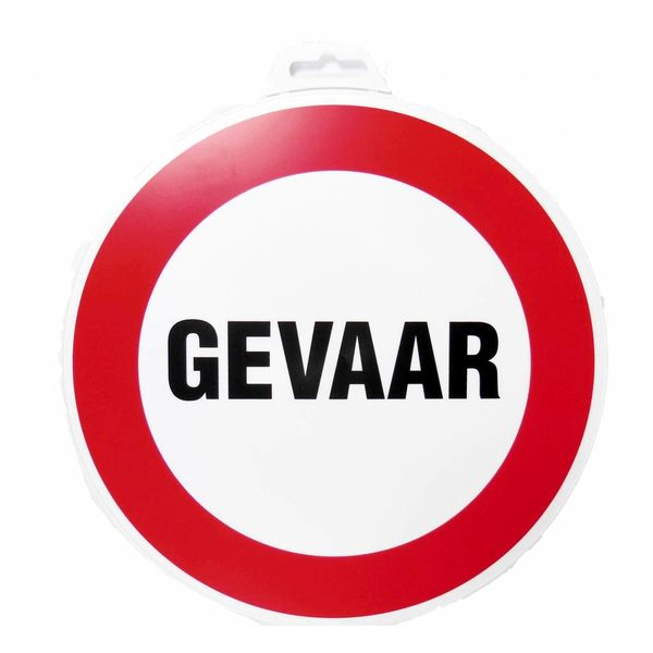Pictogram 'Gevaar' Ø 300 mm