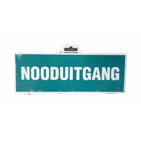 Pictogram 'Nooduitgang' 330 x 120 mm