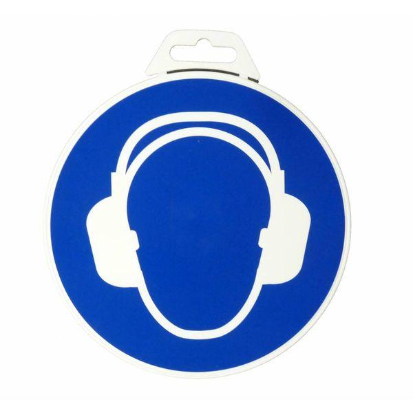 Icon 'Ear Protection Mandatory ' Ø 180 mm