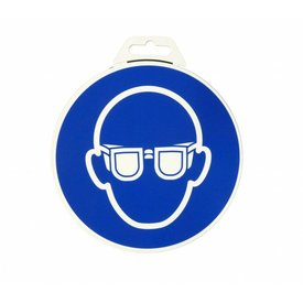 Icon 'Goggles Mandatory ' Ø 180 mm