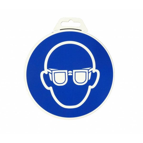 Icon 'Goggles Mandatory ' Ø 180 mm