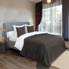 HnL Bedspread Marseille - 270/260 cm mocha