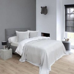 HnL Bedspread Vanity - 270/260 cm natural gray
