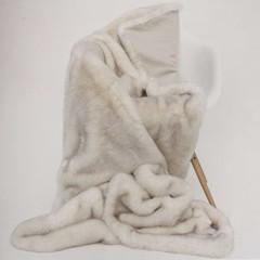 Ritter Ritter blanket   Marble   Webfell Blanket   140/200 cm