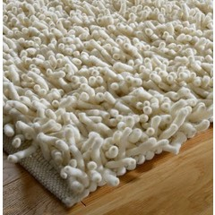 Tisca Handwebteppich Olbia - Shag