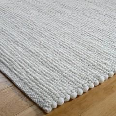 Tisca Handwebteppich Olbia Uni