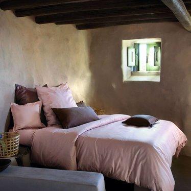 Bed Linen Bassetti Uni 135 X 200 40 X 80 Cm 1140 Rose