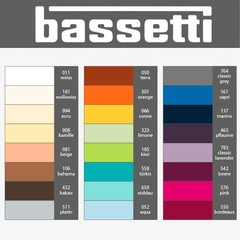 Bassetti Bassetti fitted sheet | NORMAL HEIGHT MAX. 20 cm | ... different sizes, 29 colors!