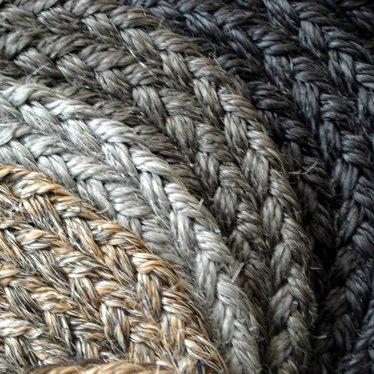 Sisal Rovera Flecht Teppich | RUND |  Standardmaße |100% Sisal