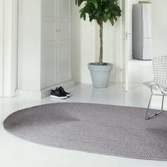 Tisca Rovera Flecht Teppich | OVAL |  Standardmaße |100% Sisal