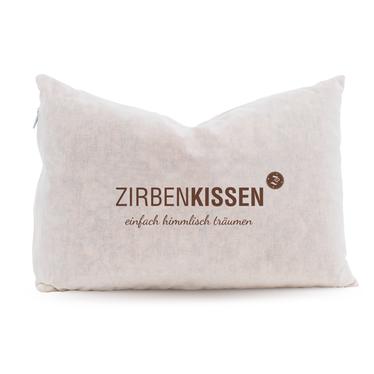 """Zirben Familie Original ZirbenKissen 30x20 Natur – """"Einfach himmlisch träumen"""""""