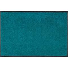 Kleen-Tex wash + dry doormat | Uni Peacock Green | ... different sizes!
