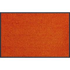 Kleen-Tex wash+dry Fußmatte | Uni Burnt Orange | ...verschieden Größen!