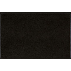 Kleen-Tex wash + dry doormat | Uni Raven Black | ... different sizes!