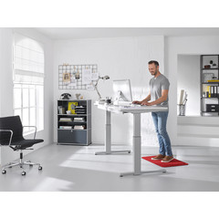 Kleen-Tex wash + dry | Anti-Fatigue Mat Stand On | Uni Regal Red | 55/78 cm