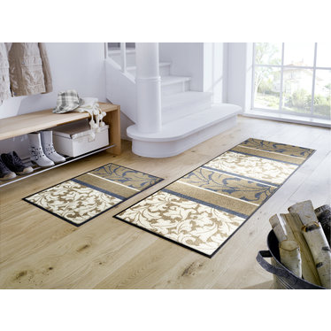 Kleen-Tex wash + dry doormat | Sinfonia | ... washable mat with rubber edge!