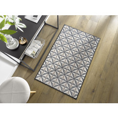 Kleen-Tex wash + dry doormat | Cube | ... washable mat with rubber edge!