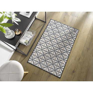 Kleen-Tex wash + dry doormat | Cube by Domagalla | ... washable mat with rubber edge!