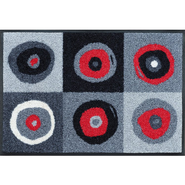 Kleen-Tex wash + dry doormat | Sergey Gray | ... washable mat with rubber edge!