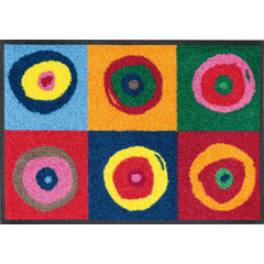 Kleen-Tex wash + dry doormat | Sergei | ... washable mat with rubber edge!