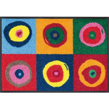 Kleen-Tex wash + dry doormat   Sergei   ... washable mat with rubber edge!