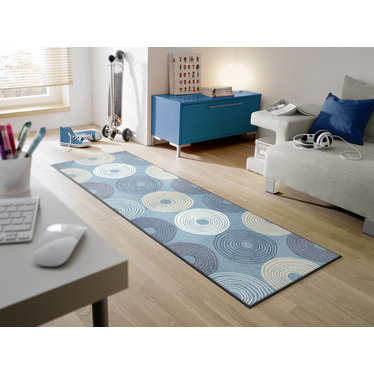 Kleen-Tex wash + dry doormat | Cyclone | ... washable mat with rubber edge!