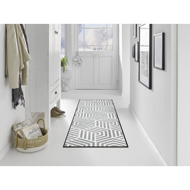Kleen-Tex wash + dry doormat | Odin | ... washable mat with rubber edge!