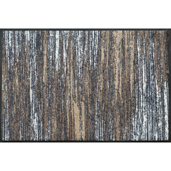 Kleen-Tex wash + dry doormat | Scratchy Beige | ... washable mat with rubber edge!