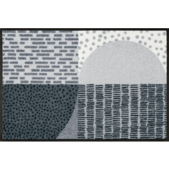 Kleen-Tex wash + dry doormat | Montos | ... washable mat with rubber edge!